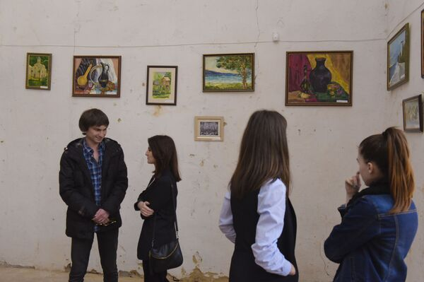 Выставка молодых художников Аҵара аамҭа - Sputnik Абхазия