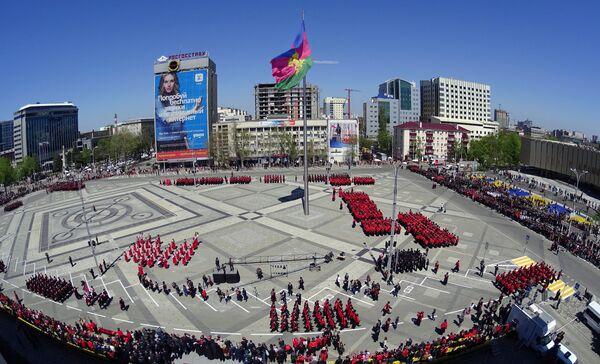 Парад Кубанского казачьего войска в Краснодаре - Sputnik Абхазия