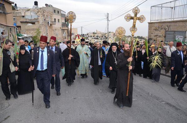 Крестный ход из Вифагии в Иерусалим - Sputnik Абхазия