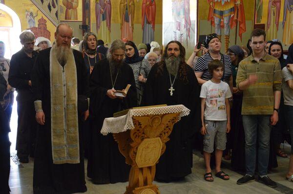 Паломническая группа абхазских верующих посетила Кану Галилейскую - Sputnik Абхазия