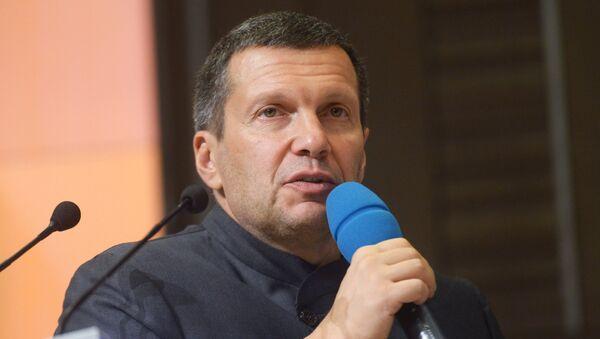 Телеведущий Владимир Соловьев - Sputnik Абхазия
