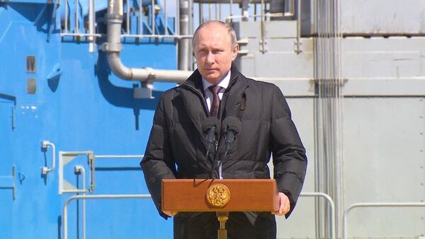 СПУТНИК_Сделано все качественно – Путин о первом пуске ракеты-носителя с Восточного. - Sputnik Абхазия