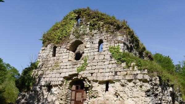 Храм Амбара в поселке Мюссера - Sputnik Абхазия