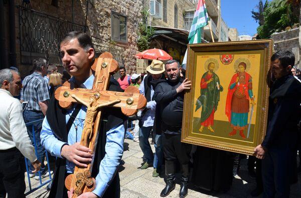 Делегация Абхазии в Израиле - Sputnik Абхазия