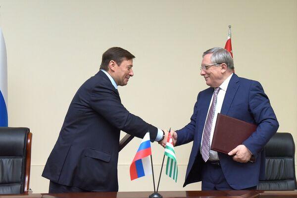 Соглашение межправ комиссии. - Sputnik Абхазия