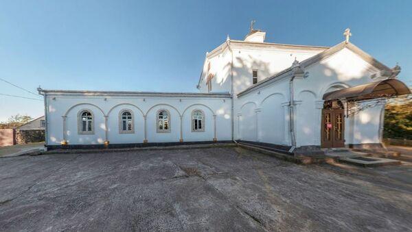 Илорский храм Георгия Победоносца. - Sputnik Абхазия