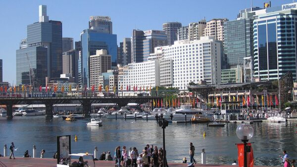 Вид австралийского города Сидней. Архивное фото - Sputnik Абхазия
