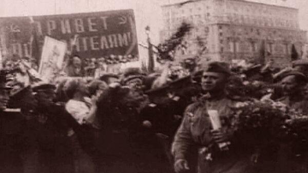 Спутник_Долгожданный День Победы. Съемки 9 мая 1945 года - Sputnik Абхазия