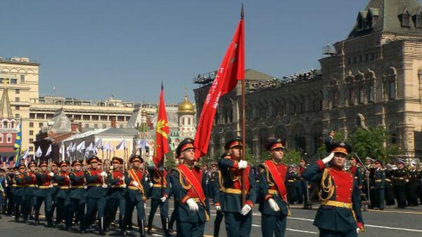 Самые яркие моменты парада Победы на Красной площади в Москве - Sputnik Абхазия