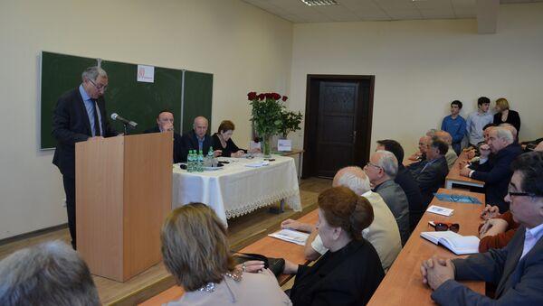 Вечер памяти историка Георгия Амичба состоялся в АГУ - Sputnik Абхазия
