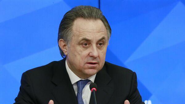 Министр спорта РФ Виталий Мутко. - Sputnik Абхазия