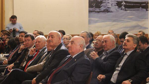 Гости вечера «Россия-Абхазия: дни и столетия» - Sputnik Абхазия