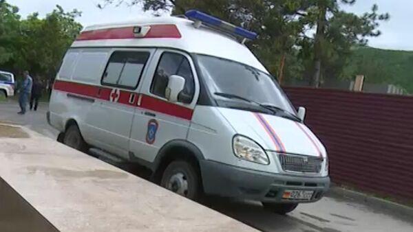 Шесть офицеров ВС РФ погибли в аварии в РЮО, кадры с места события - Sputnik Абхазия