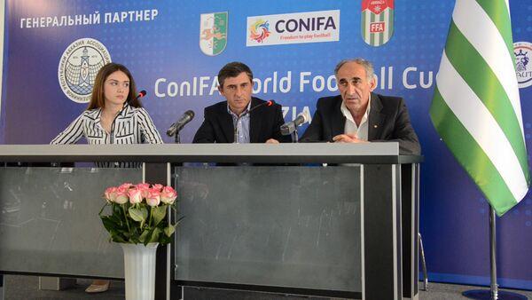 Окончательный состав сборной Абхазии по футболу на ЧМ станет известен 25 мая - Sputnik Абхазия
