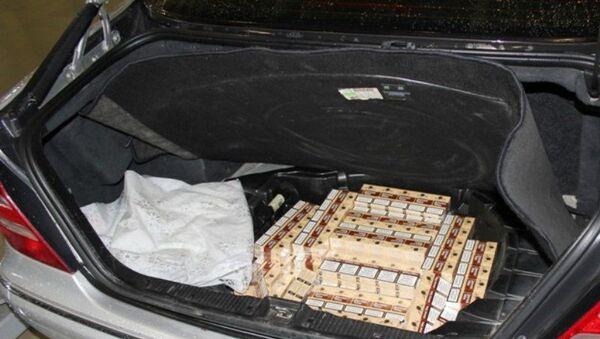 Сигареты из Абхазии задержали на таможне - Sputnik Абхазия