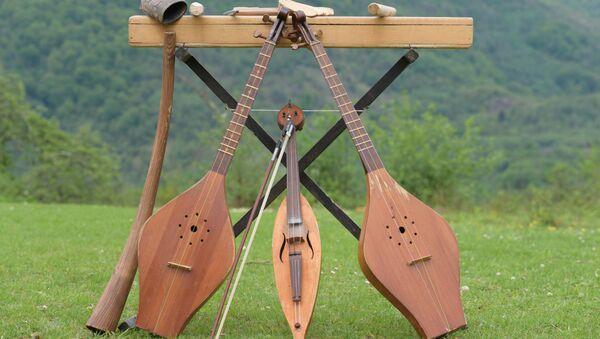 Изготовление музыкальных инструментов - Sputnik Аҧсны