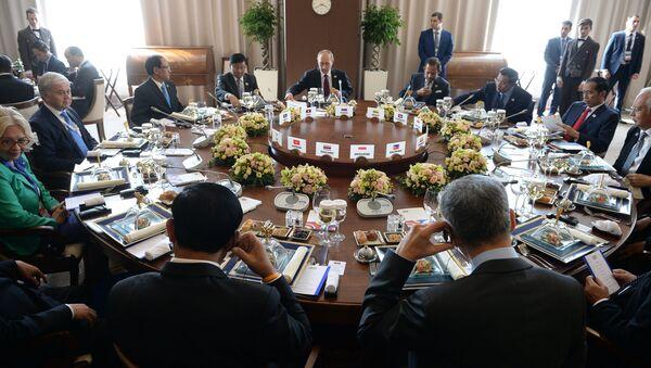 Участники саммита Россия — АСЕАН - Sputnik Абхазия