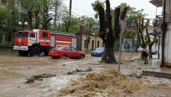 Наводнение. - Sputnik Абхазия