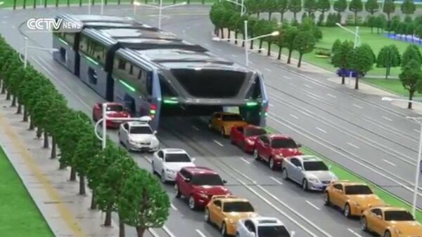 Концепт автобуса Transit Elevated Bus - Sputnik Абхазия
