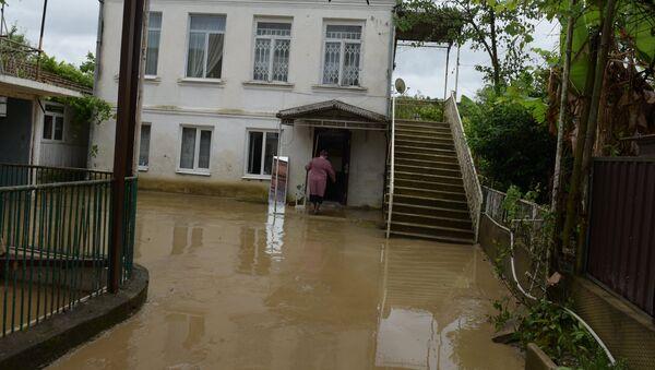 Последствия наводнения. - Sputnik Абхазия