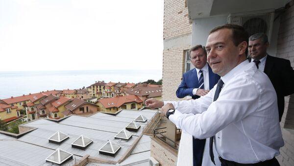 Рабочая поездка в Крым премьер-министра РФ Д. Медведева - Sputnik Абхазия
