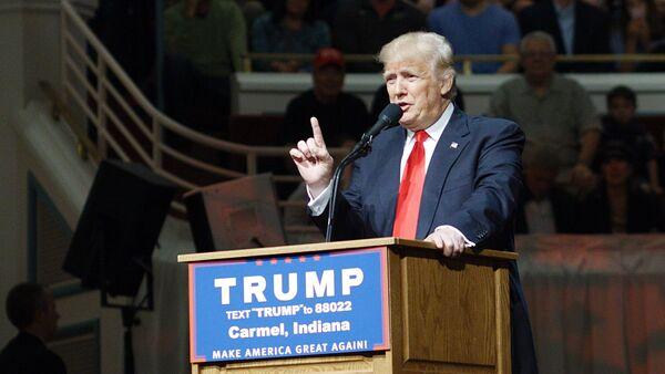 Архивное фото кандидата в президенты США от Республиканской партии Дональда Трампа - Sputnik Абхазия
