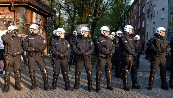 Полиция Германии. - Sputnik Абхазия