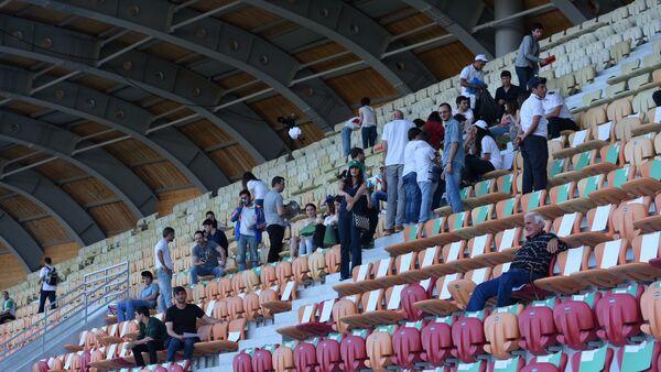 Болельщики сборной Абхазии готовятся к матчу - Sputnik Абхазия