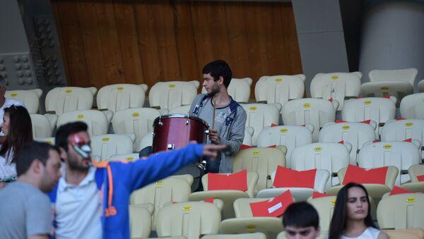 Болельщики сборной Абхазии готовятся к полуфинальному матчу - Sputnik Абхазия