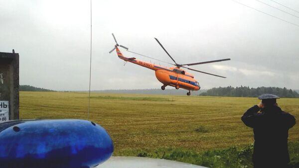 Спасатели отправились на место крушения Су-27 в Подмосковье - Sputnik Абхазия