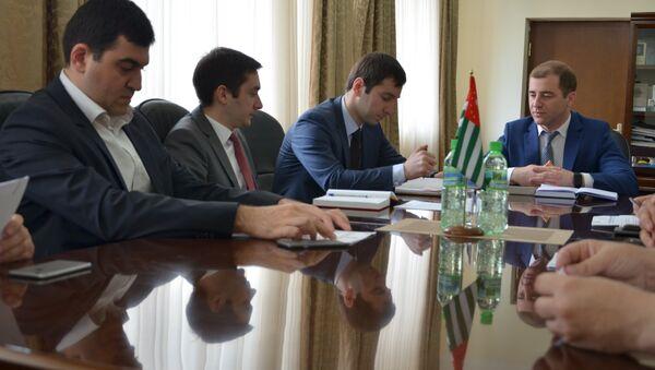 Заседание в министарстве экономики - Sputnik Абхазия