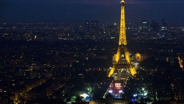 Открытый концерт в фан-зоне в Париже, за один день до начала чемпионата Евро-2016 по футболу. - Sputnik Абхазия