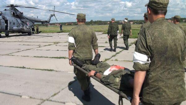 Медики специального назначения отточили навыки спасения жизней. - Sputnik Абхазия