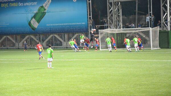 Кадры матча между Абхазией и Лапландией на ЧМ ConIFA - Sputnik Абхазия