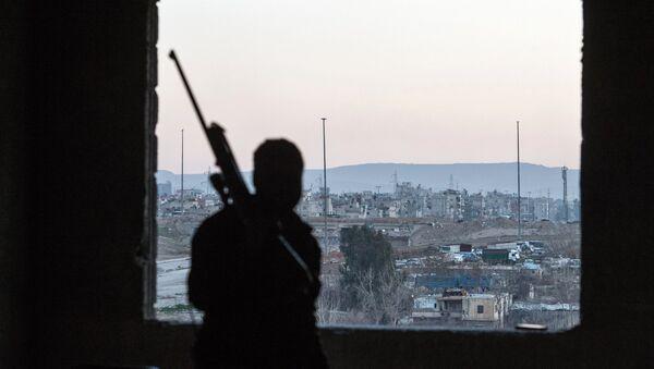 Ситуация в сирийском городе Дамаске - Sputnik Абхазия