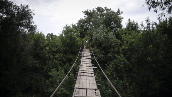 Подвесной мост - Sputnik Абхазия