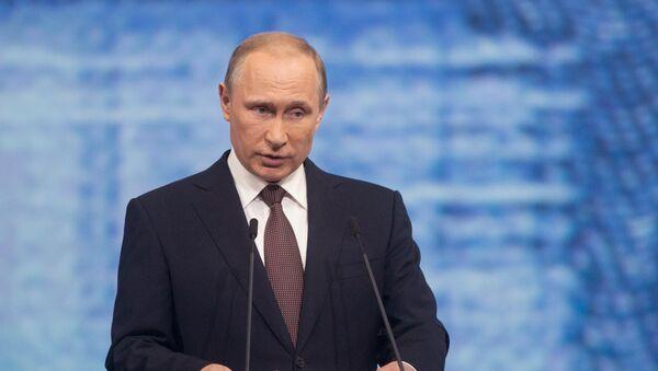 Рабочая поездка президента РФ В. Путина в Санкт-Петербург. День второй - Sputnik Абхазия