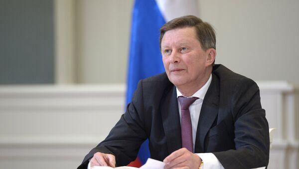 Глава администрации президента РФ С.Иванов. - Sputnik Абхазия
