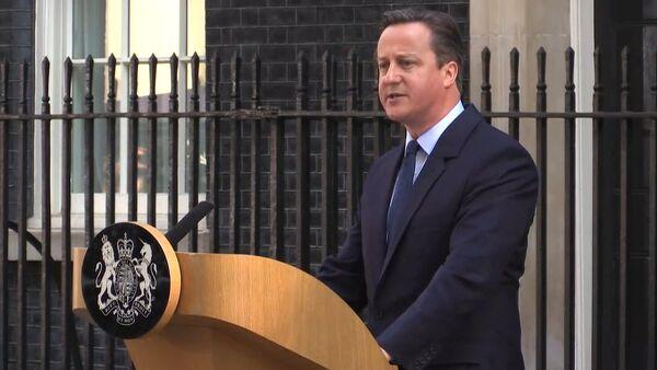 Кэмерон заявил, что новый премьер-министр должен быть определен к октябрю - Sputnik Абхазия
