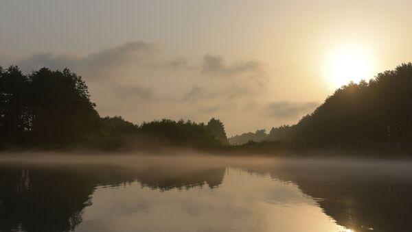 Рассвет на озере Скурча - Sputnik Абхазия