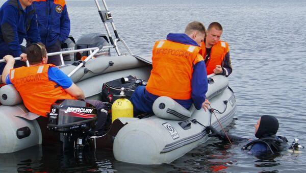 Поисково-спасательные работы на озере Сямозеро - Sputnik Абхазия