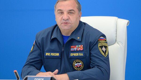 Министр РФ по делам гражданской обороны, чрезвычайным ситуациям и ликвидации последствий стихийных бедствий Владимир Пучков - Sputnik Абхазия