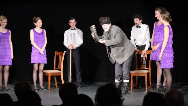 класс-концерт в Абхазском драматическом театре - Sputnik Абхазия