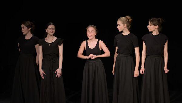 Класс-концерт студентов абхазской студии Театрального института имени Б.Щукина - Sputnik Абхазия