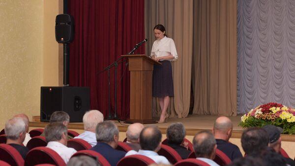 Научная конференция посвященная январской и июльской операции - Sputnik Абхазия