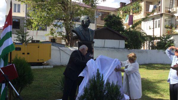 Открытие памятника Омару Бейгуаа - Sputnik Абхазия