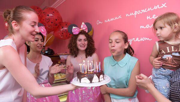 Эстафета Благотворительной Общественной организации (БОО) Киараз  Подари детям день радости. - Sputnik Аҧсны