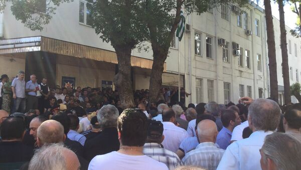 Лидер партии Амцахара призвал не накалять ситуацию - Sputnik Абхазия