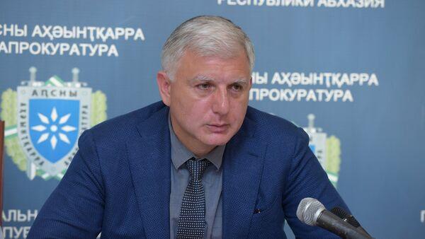 Экс-генеральный прокурор Абхазии Алексей Ломия - Sputnik Абхазия