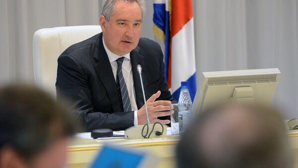 Вице-премьер РФ Д. Рогозин. - Sputnik Абхазия